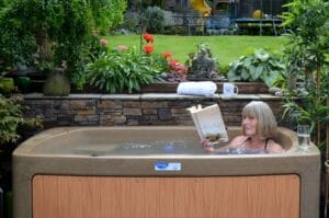 Flowers & hot-tubs for 50th Anniversary of church! 1