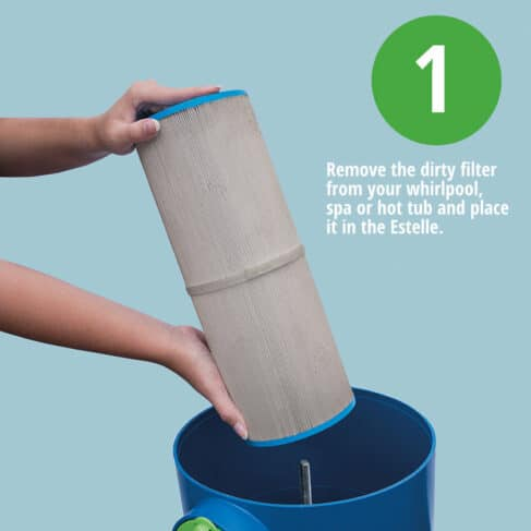 Estelle Spa Filter Cleaning System 1