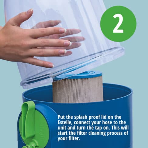 Estelle Spa Filter Cleaning System 2