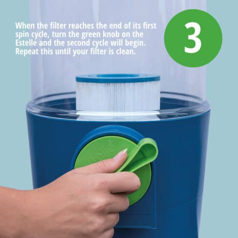 Estelle Spa Filter Cleaning System 3