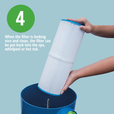 Estelle Spa Filter Cleaning System 4