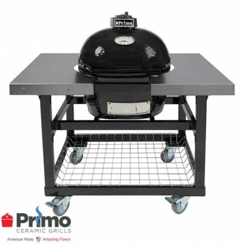 Primo Oval LG 300 Plus Cart With Basket And Side Shelves 1